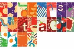 Helvetica House of Cards by Josie Krentz