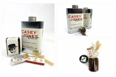 Casey Jones Whiskey Packaging by Morgan Laboda
