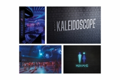 The Kaleidoscope Interior and Exterior Signage by Sydney Turner
