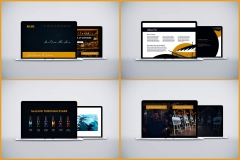 Nova Brewpub Website Screens