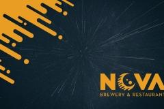 Nova Brewpub Identity Package by Taylor Carpenter