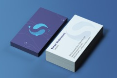 Sarah Stephens: Sherwood Aquarium Business Cards